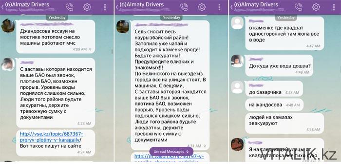Сель в Алматы 23 июля 2015 - Виталий Салахмир - VITALIK.kz