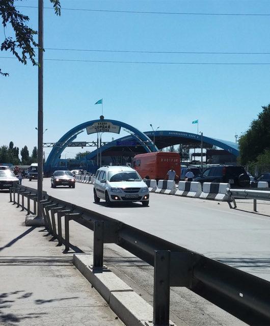 Граница Казахстан Кыргазстан на Кордае