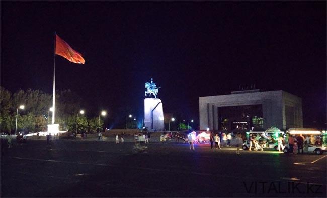 Площадь Ала Тоо - Бишкек глазами алматинца - Виталий Салахмир