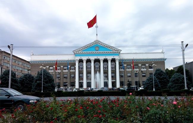 Бишкек Филармония - Бишкек глазами алматинца - Виталий Салахмир