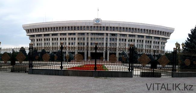 Дом правительства Бишкек - Бишкек глазами алматинца - Виталий Салахмир