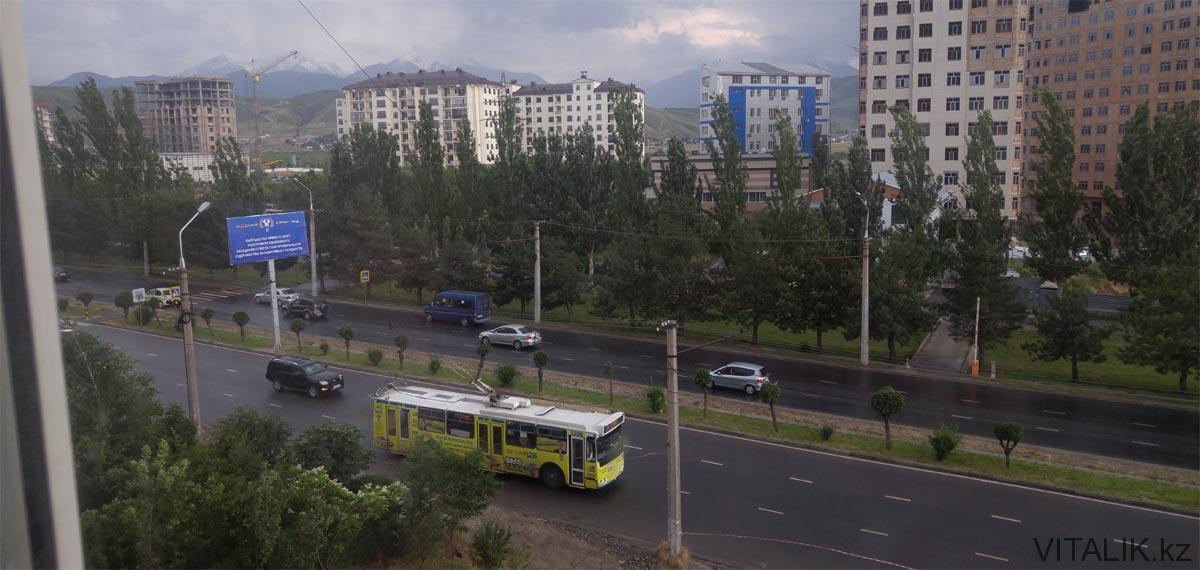 бишкек дождь южная магистраль
