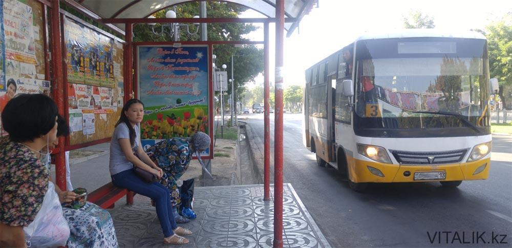 автобус 3 шымкент