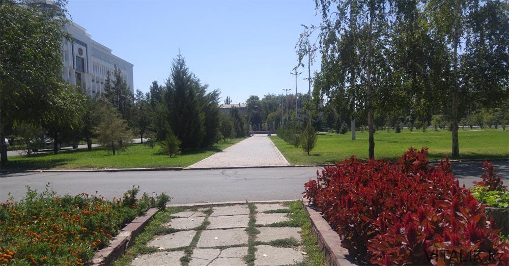 акимат жамбылской области дорога