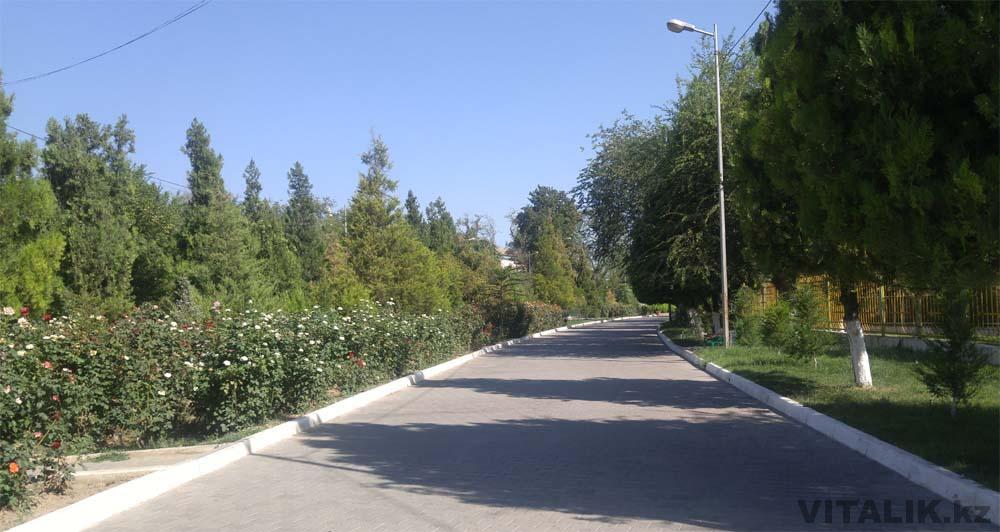 аллея парк абая