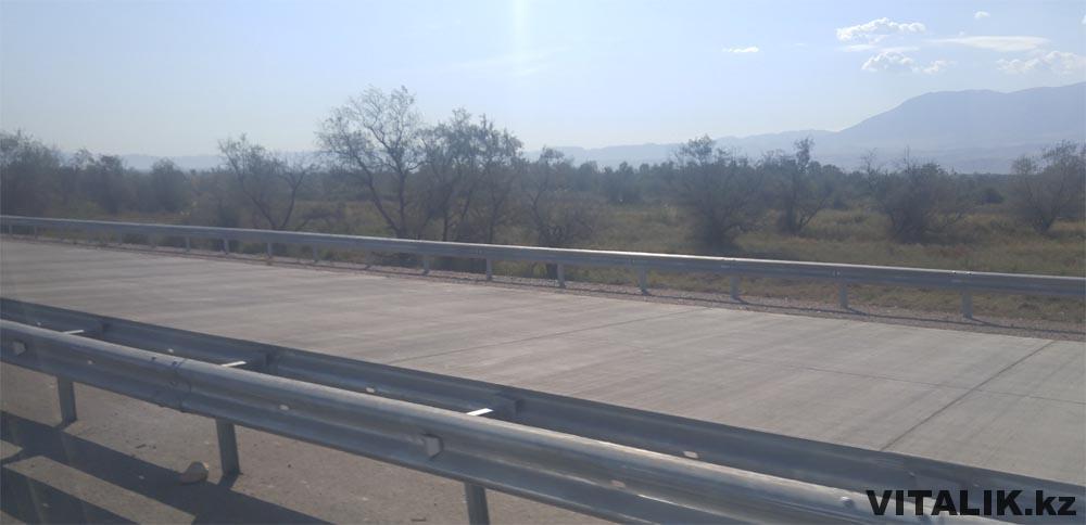 бетонная дорога до чунджи