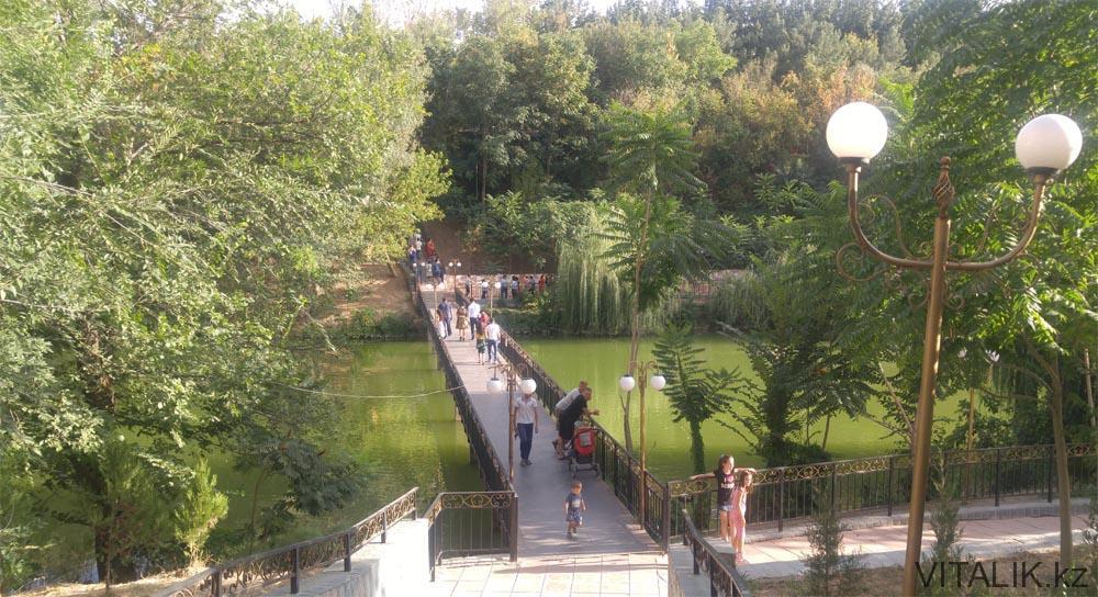дендропарк шымкент мост