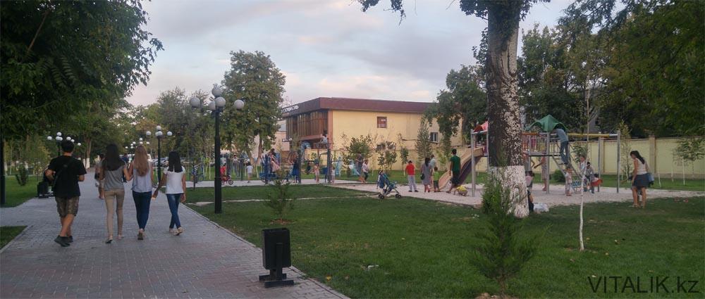 дети парк центральный шымкент