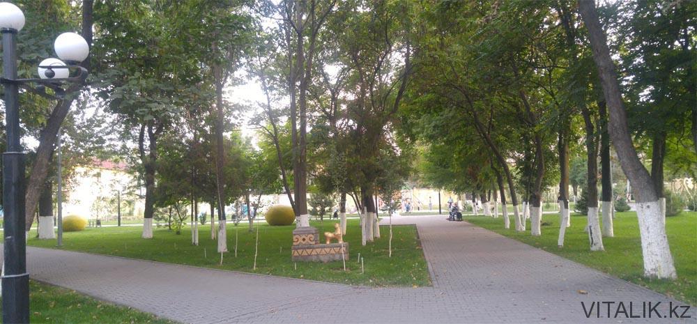 куда сходить шымкент парк