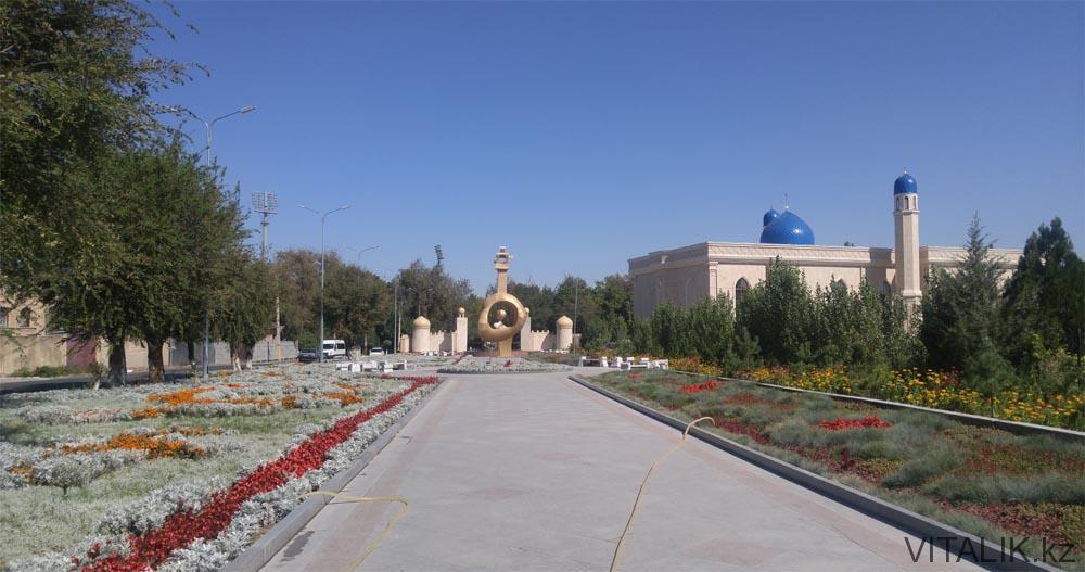 мечеть мавзолей карахана