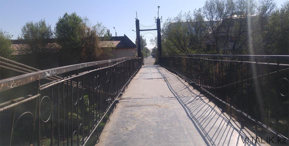 мост через речку тараз