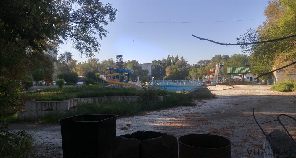 парк аттракционов тараз
