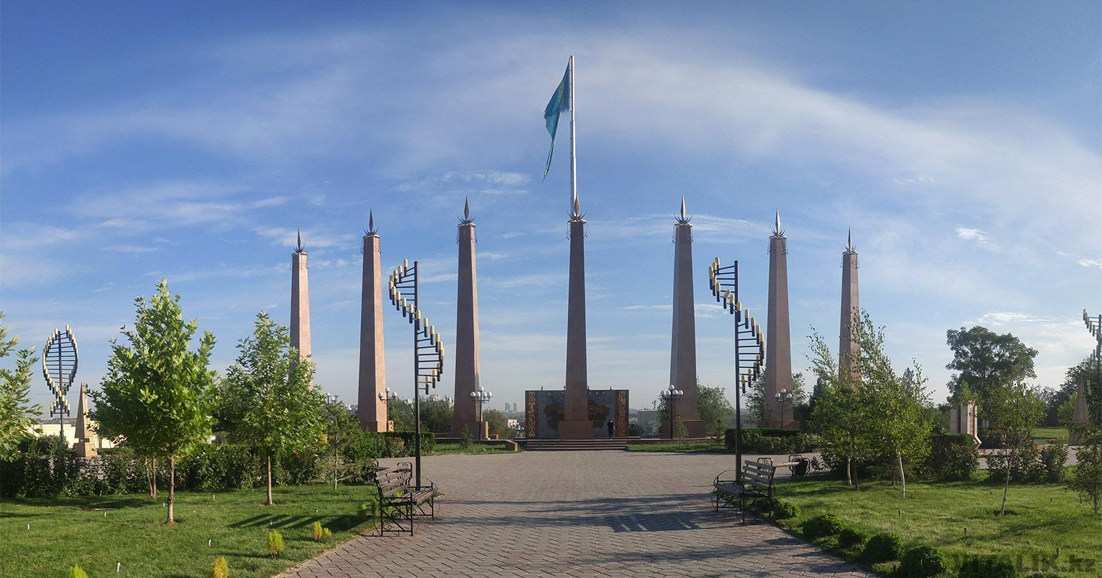 парк независимости город шымкент
