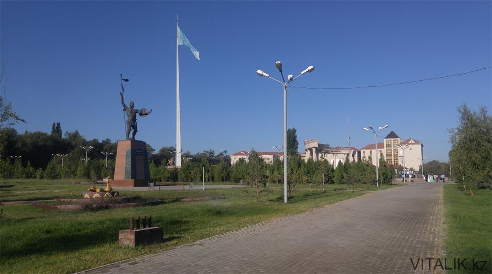 парк первого президента тараз