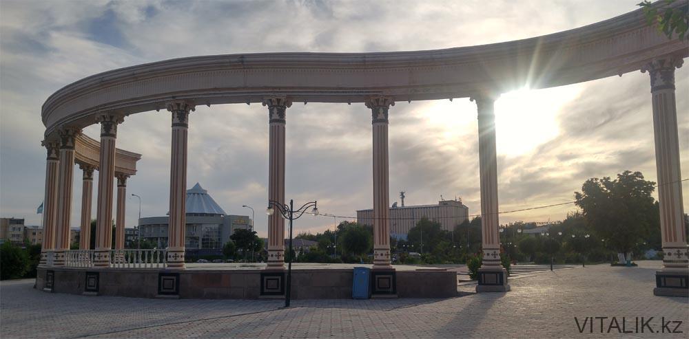 парк дворец бракосочетания шымкент