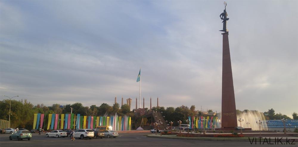 площадь ордабасы шымкент
