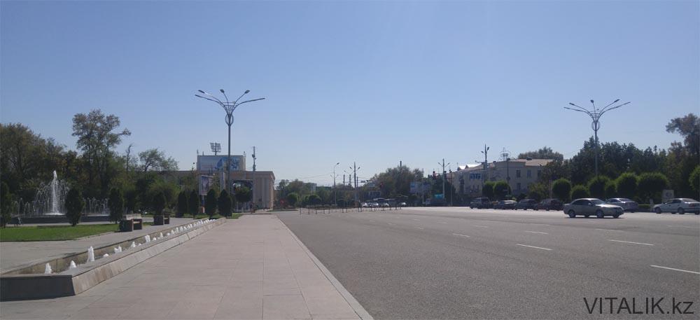 площадь тараза акимат