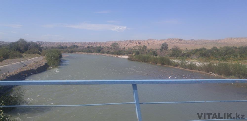 река чарын