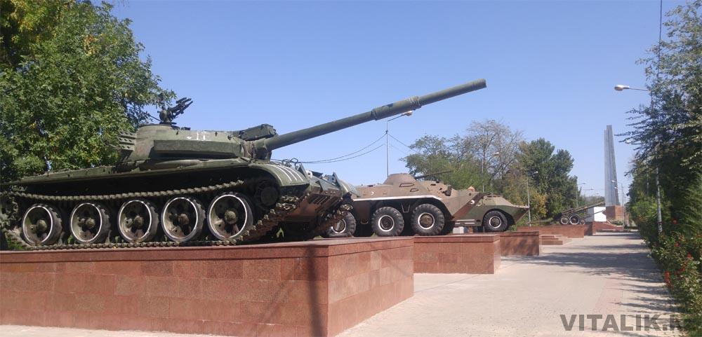 танки парк шымкент