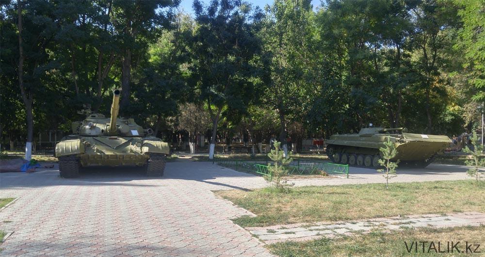 танки тараз парк