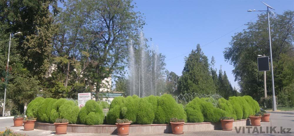 фонтан абая шымкент