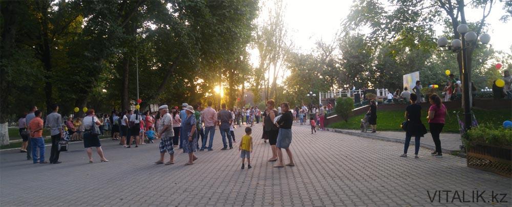 центральный парк шымкент