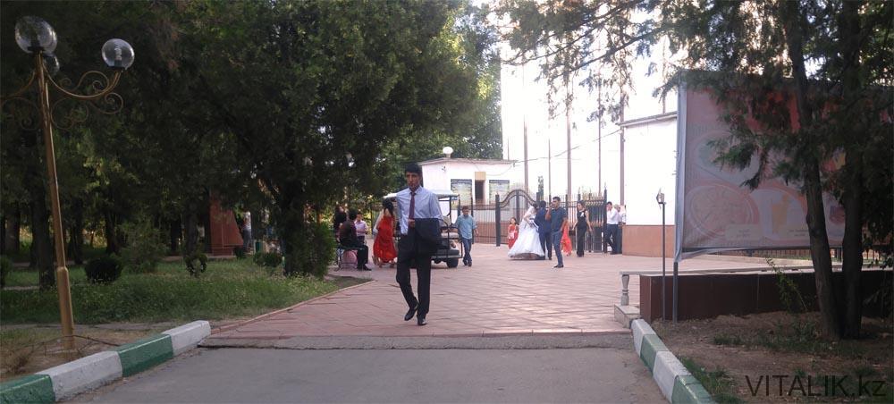 шымкент дендропарк свадьба