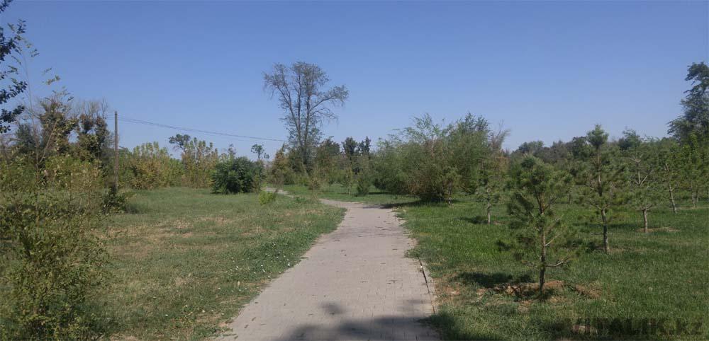 шымкент парк абая