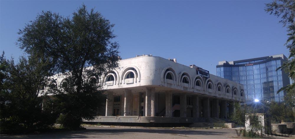 заброшенное здание бишкек