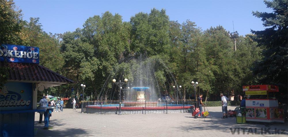 парк имени панфилова бишкек