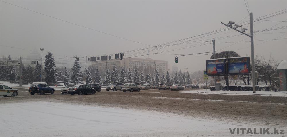 новая площадь снег слякоть