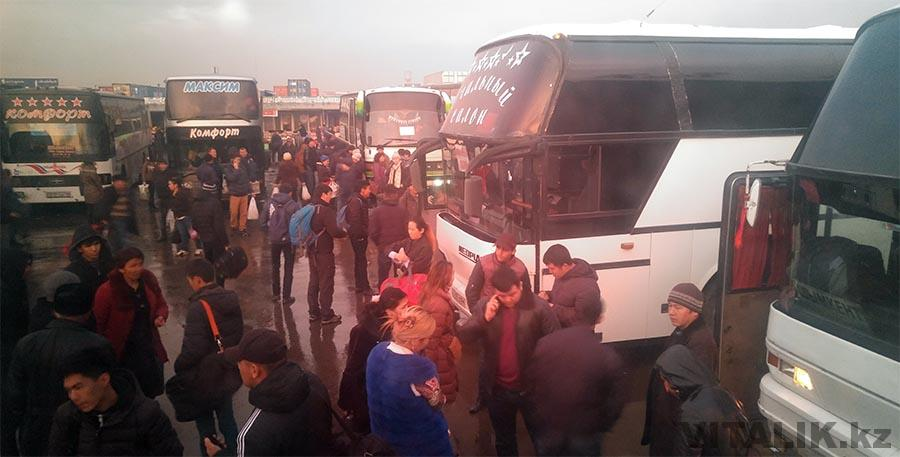 Автобусы Ташкент Шымкент из Алматы 2017