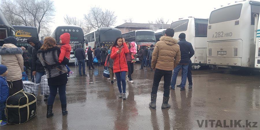 Автостанция на Барлыке до Ташкента