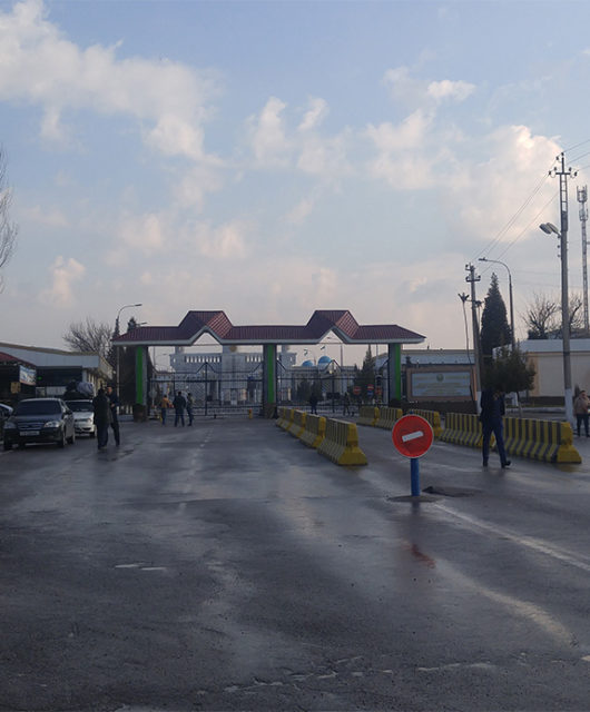Граница Казахстан Узбекистан
