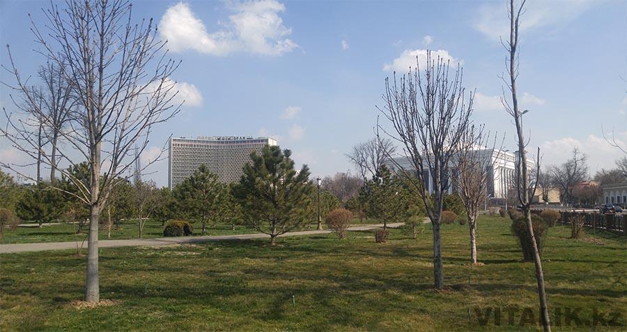 Гостиница Узбекистан, Конгресс Центр, Парк Амира Тимура