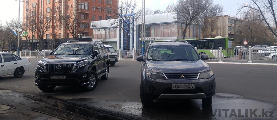 Иностранные машины в Узбекистане