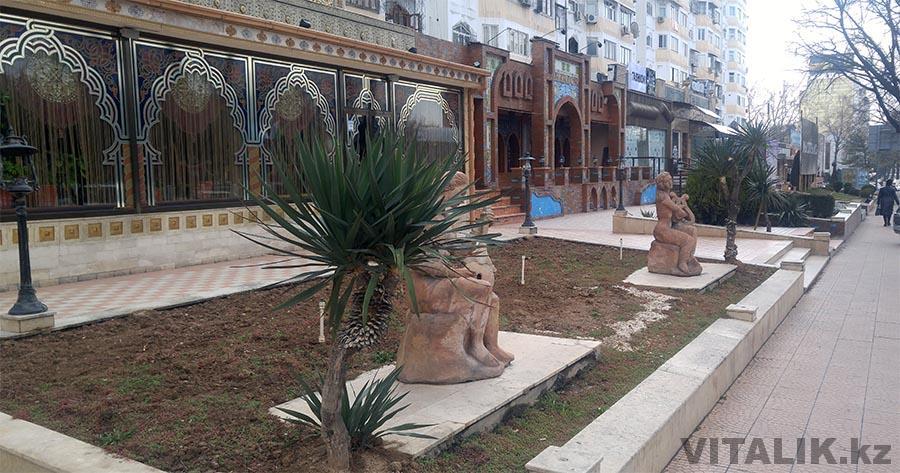 Пальмы в Ташкенте