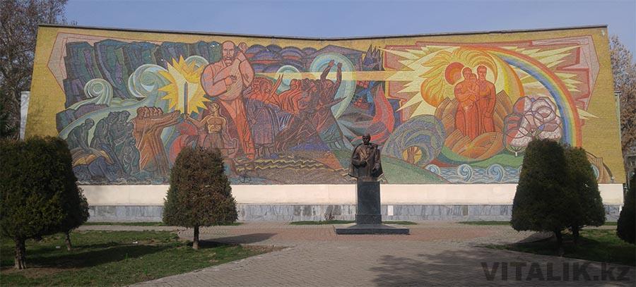 Памятник Шевченко Ташкент