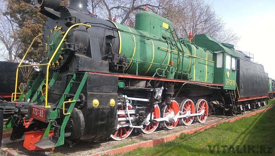 Поезд Ташкент