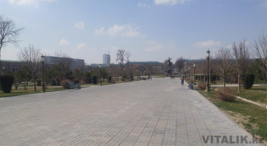 Сквер Амира Тимура Ташкент