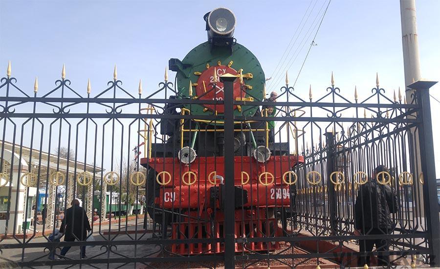 Ташкент поезд музейный
