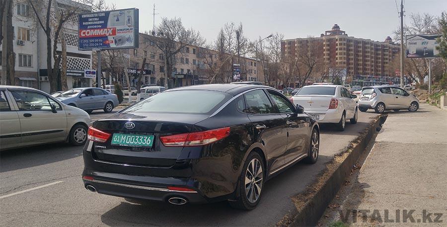 KIA Optima дипномера узбекистан