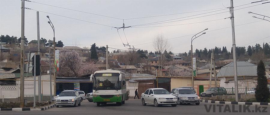 Автобус Душанбе