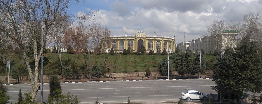 Амфитеатр Душанбе