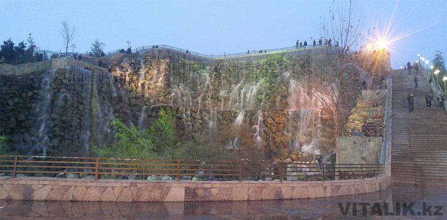 Водопад Рудаки Душанбе