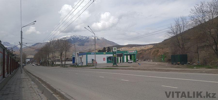 Горы Душанбе