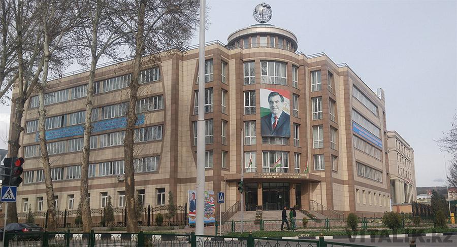 Госздание Душанбе Рахмон