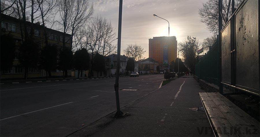 Градиентное здание Душанбе
