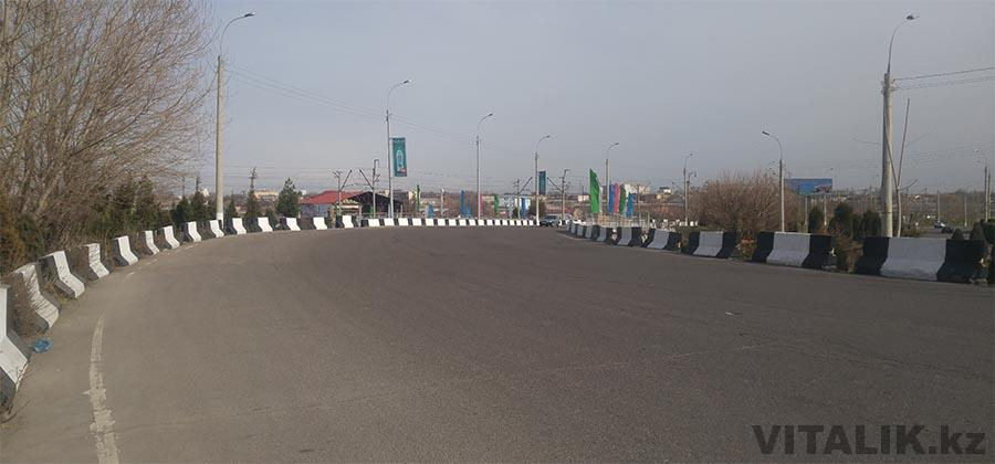 Дорога Ташкент