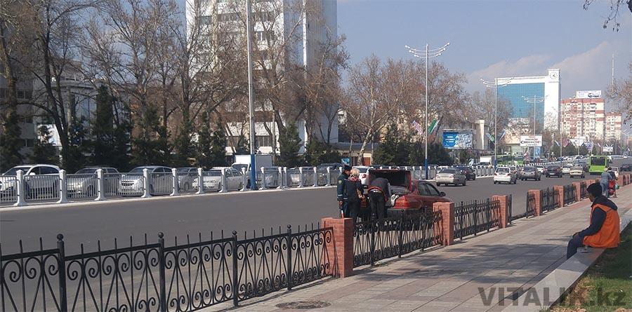 Досмотр багажника автомобиля Ташкент